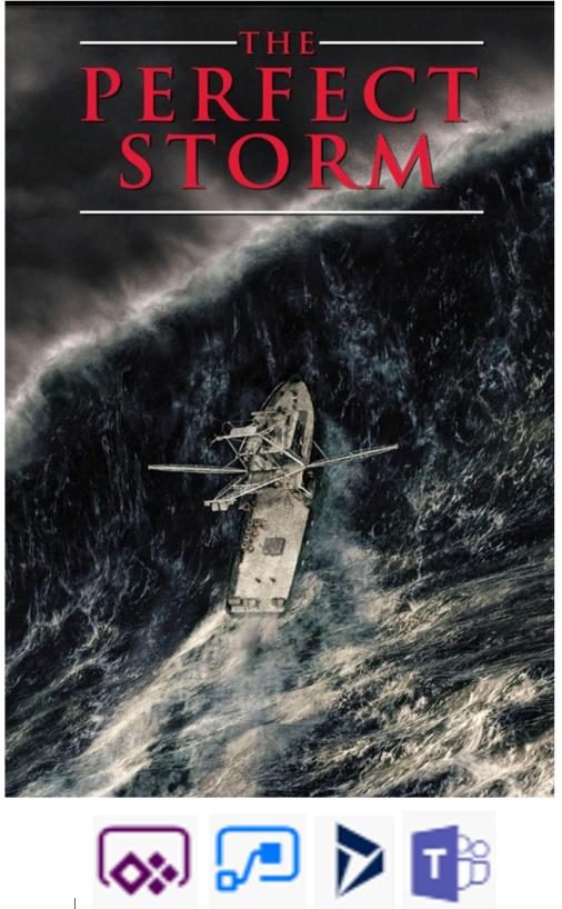 ¿La tormenta perfecta?