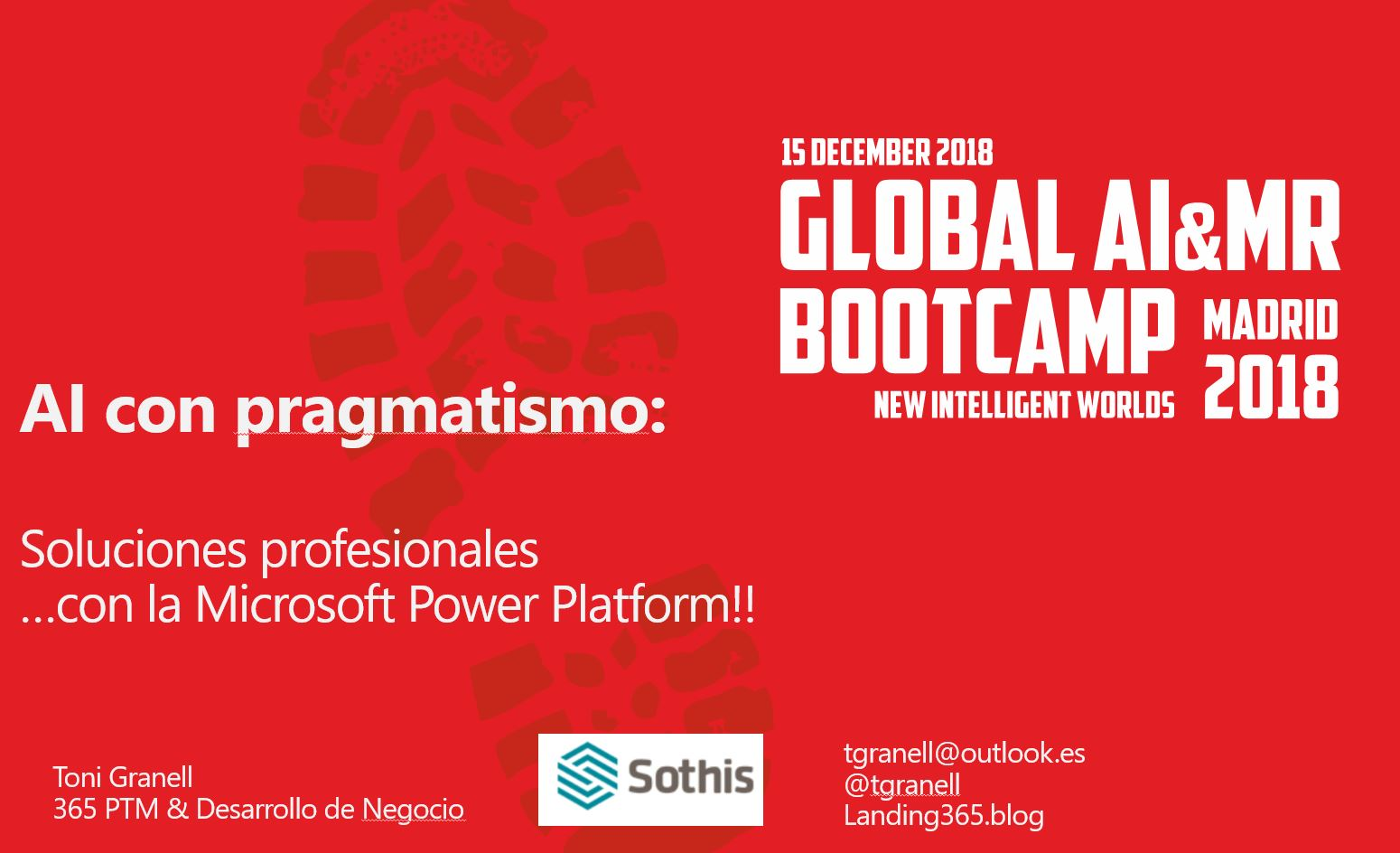 Global AI & MR Bootcamp