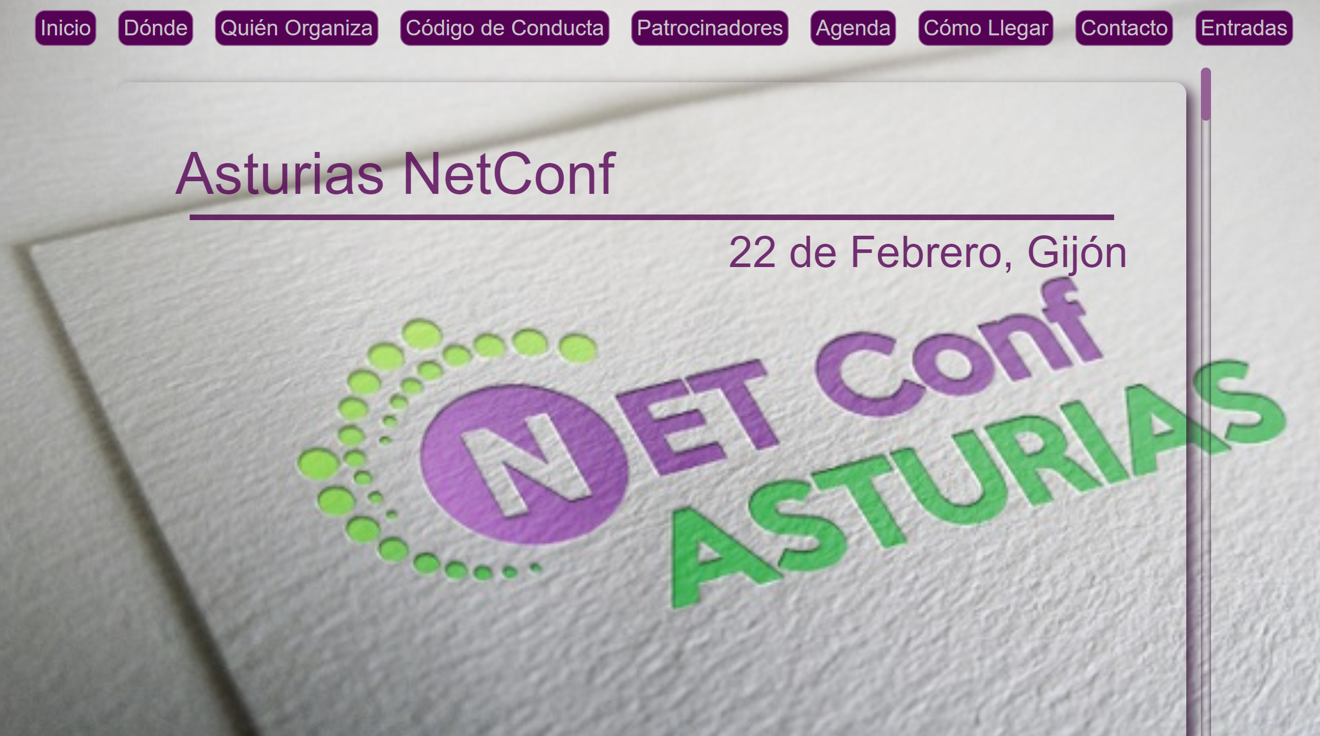 Videos sesiones NetConf Asturias
