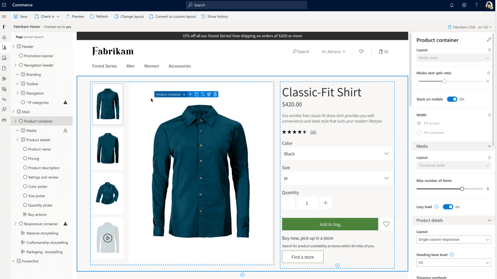 Dynamics 365 Commerce